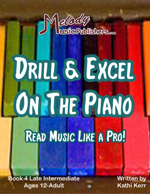 Drill & Excel On the Piano 4
