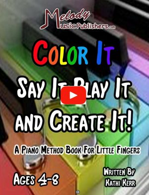 Color It Say It Play It and Create It ages 4-8