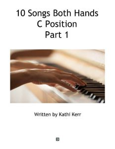 10 Piano Song C Position Part 1