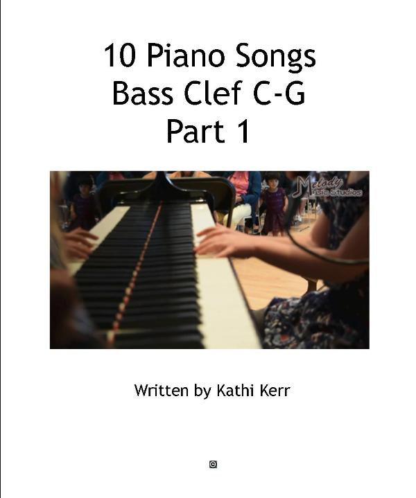 10 piano song bass clef C-G part 1