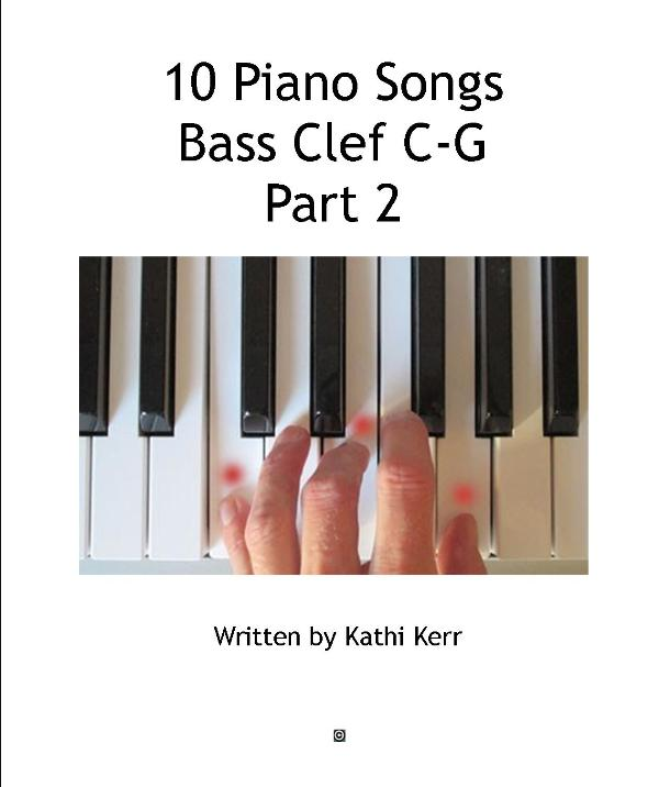 10 piano songs bass clef part 2