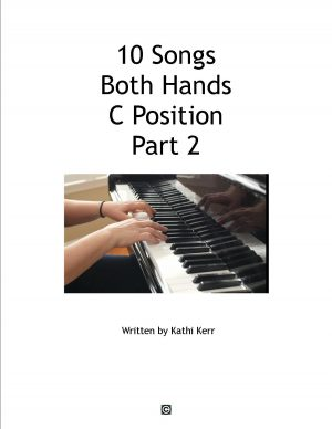 10 piano songs both hands C hand position
