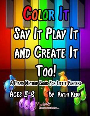 Piano Method Book for Children