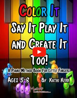 Color It Say It Play It and Create It Book 2