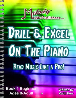 Drill & Excel On the Piano Books